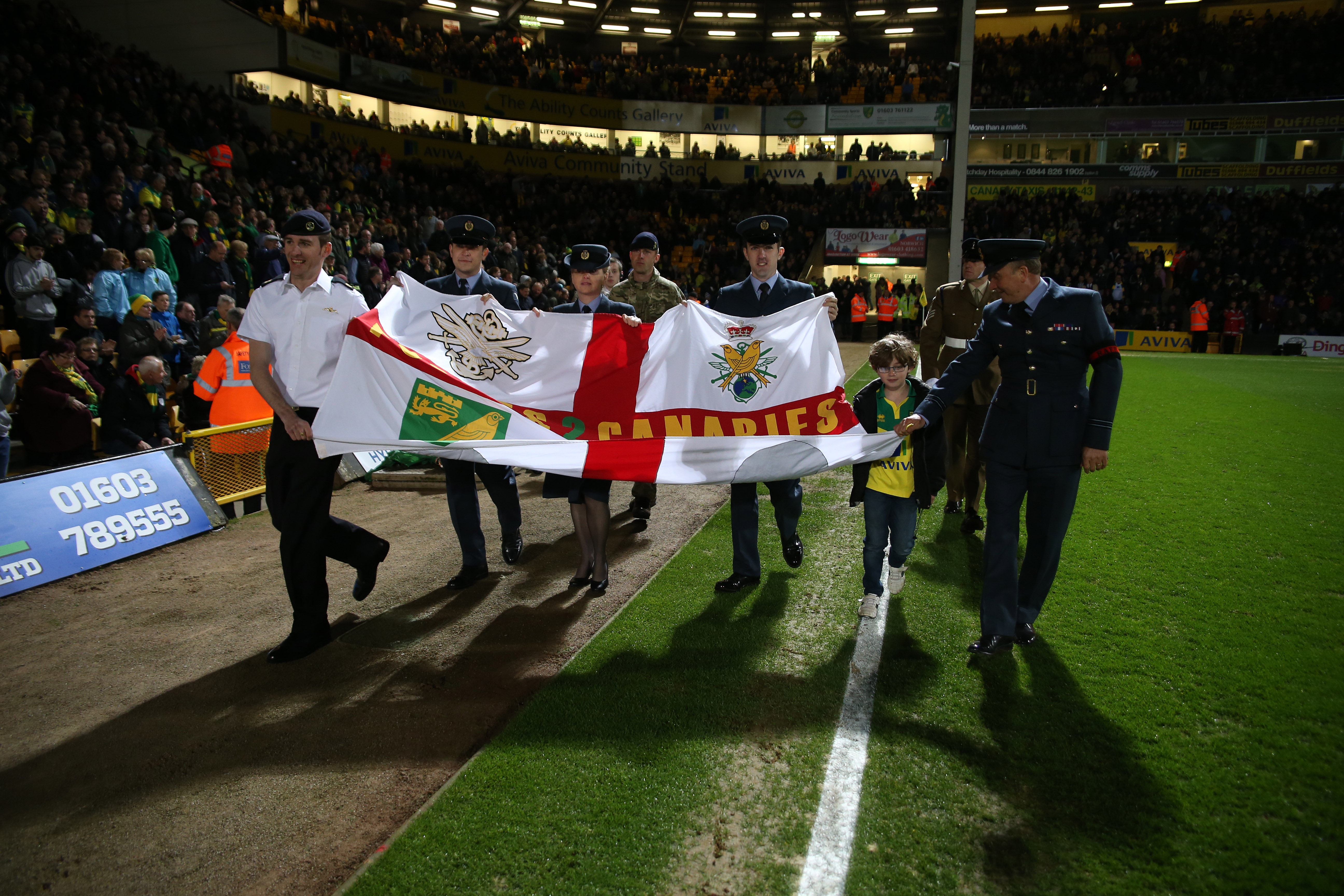 Armed Forces Day Carrow Rd April 2015