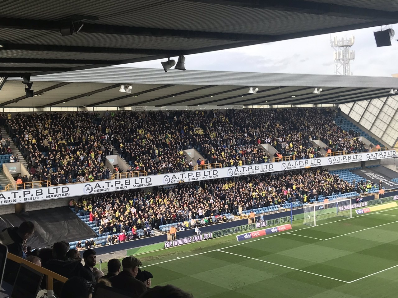 Millwall away March 2019
