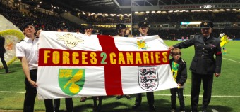 Armed Forces Day at Carrow Road this Saturday