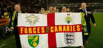 Armed Forces Day Carrow Road